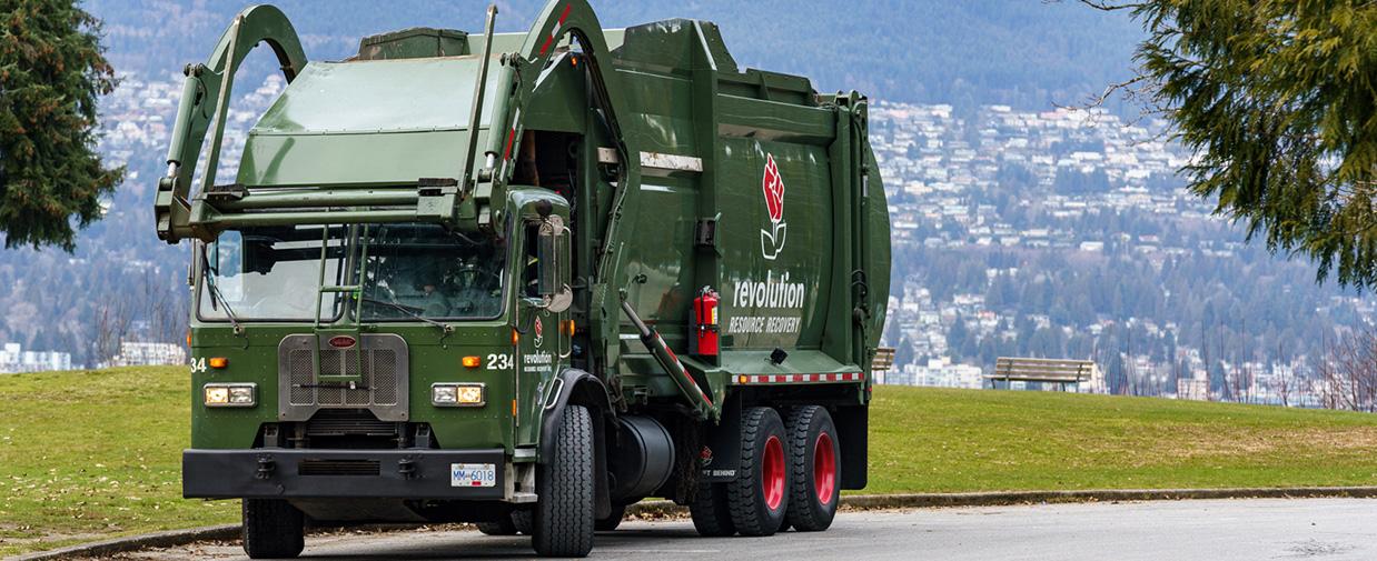 multi-family garbage truck